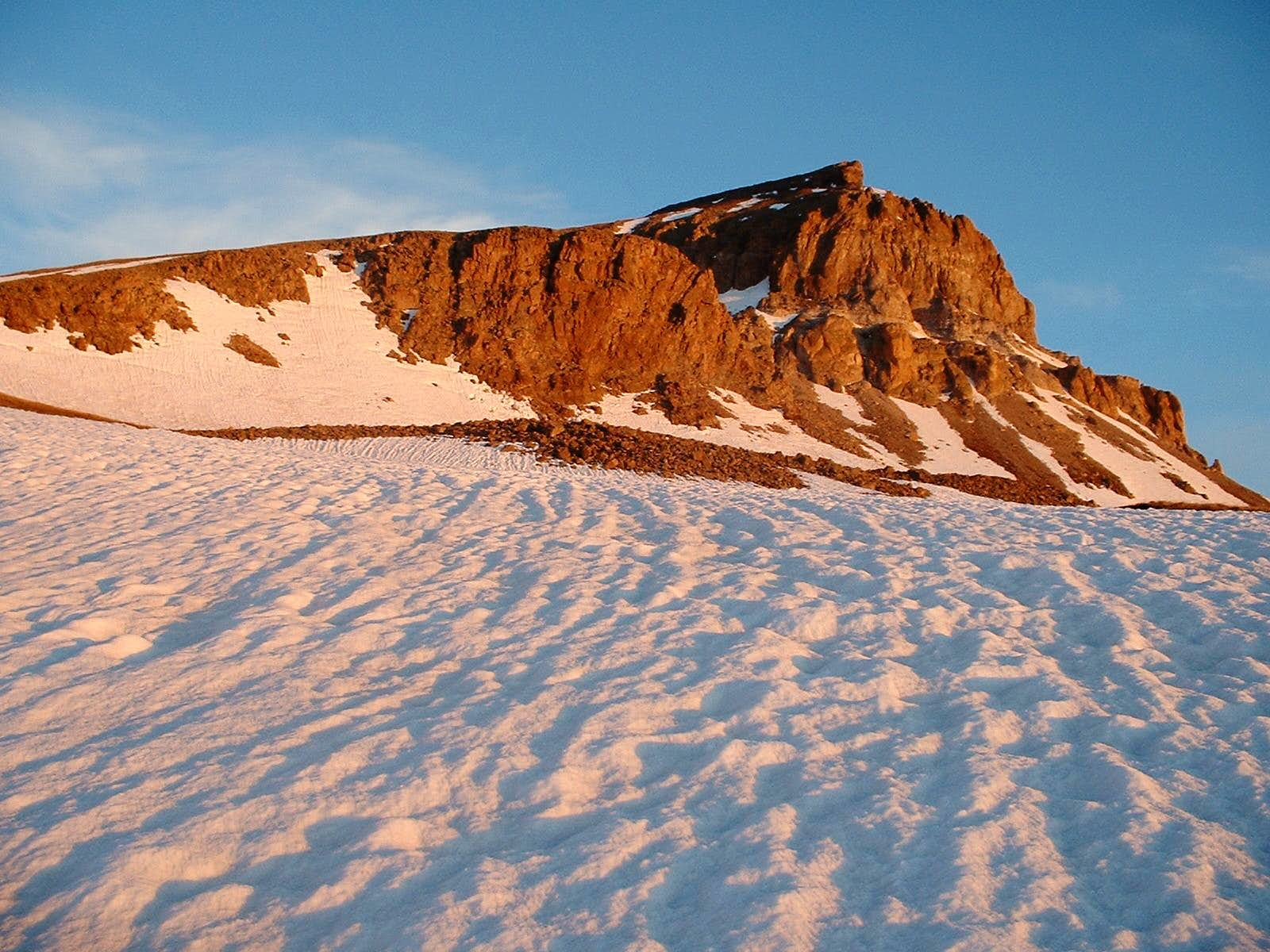 A Pleasant Spring Day on Uncompahgre Peak