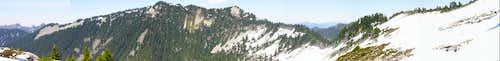 Lennox Mtn warm spring climb