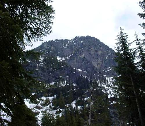 Guye Peak from the Northwest...