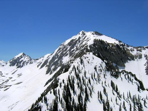 Lone Peak from the North