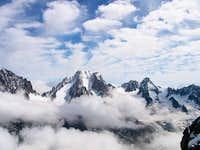 The Aiguille d'Argentiere as...