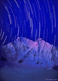 Stars over Donguz-Orun in the night...