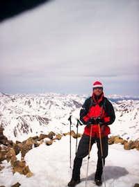 Mt. Elbert Summit May 29, 2006