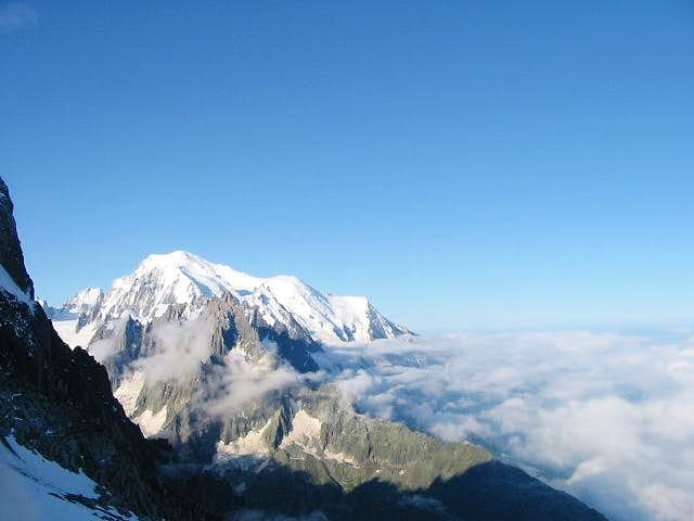 Classic view of Mont Blanc...