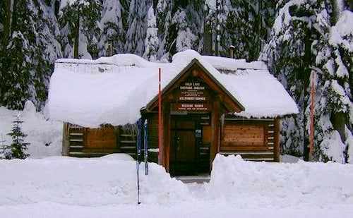Gold lake cabin.