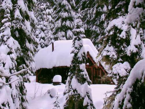 Gold lake shelter.