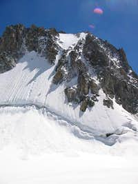 The north face of Tour Ronde...