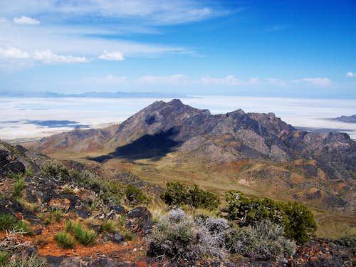Cobb Peak from Graham Peak