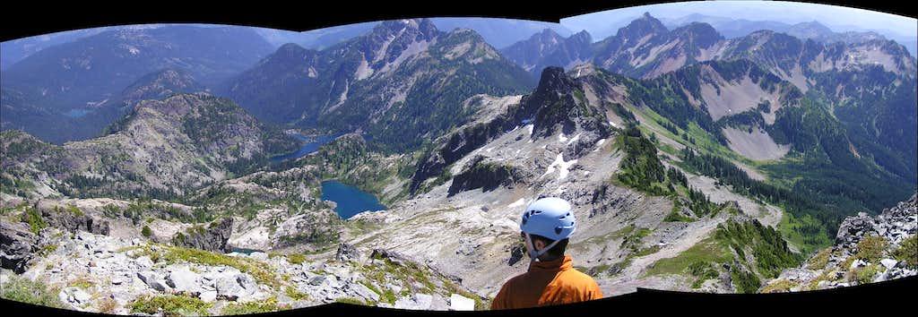 Glacier Lk, Chikamin and Box Ridge Pan