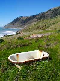 Tub on Lost Coast