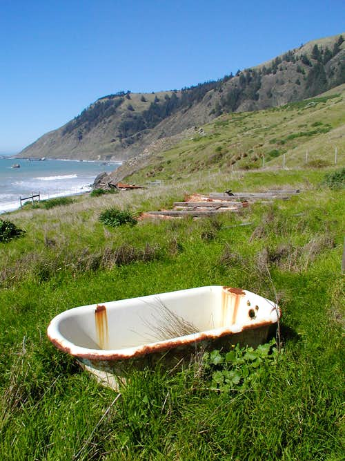Tub on Lost Coast
