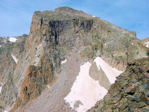 The North Face of Mt. Alice....