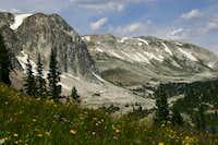 Hiking Toward Medicine Bow Peak