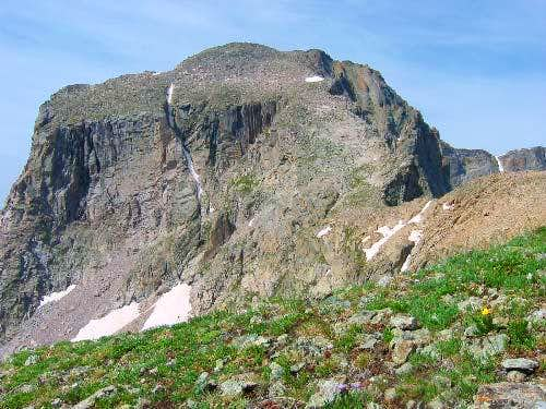 The North Face of Mt. Alice...