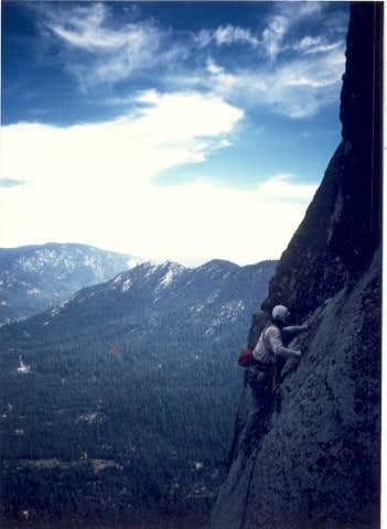 Hermit Spire South Face 8-7-85