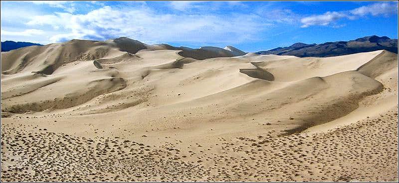 Eureka Dunes from 500ft