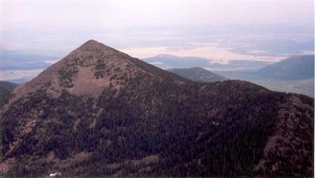Fremont Peak from Agassiz Peak