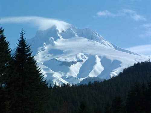 Mt. Hood from Highway 26...