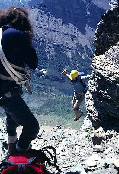 """Jump Move"" East Face, Mount Wilbur"