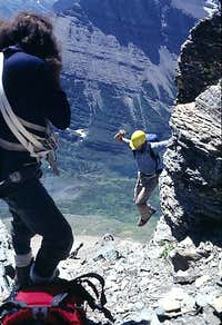 Jump Move  East Face, Mount Wilbur