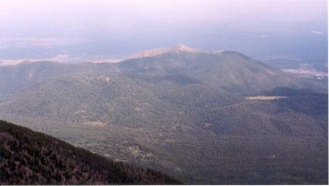 Mt. Elden seen from Agassiz...