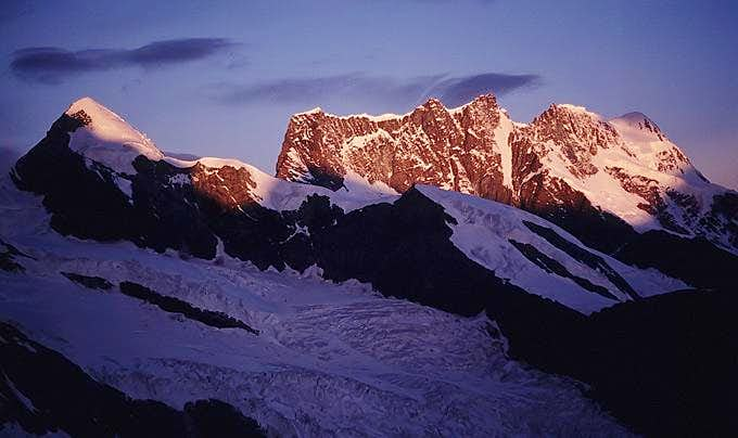 Pollux from Monte Rosa
