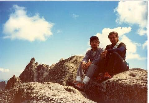 After climbing the West Ridge of Prusik Peak, August 13, 1986