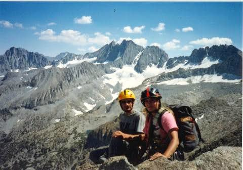 After Moon Goddess Arete, Temple Crag,August 6, 1987