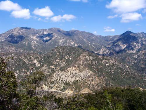 Condor and Fox Peaks