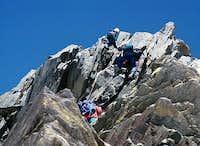 below the Nordend summit