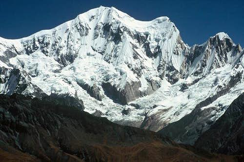 Annapurna 3 from south