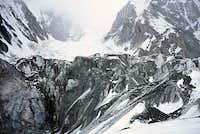 Semyanovsky Glacier from Camp 1