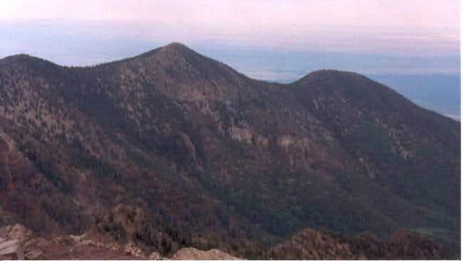 Aubineau Peak and Rees Peak