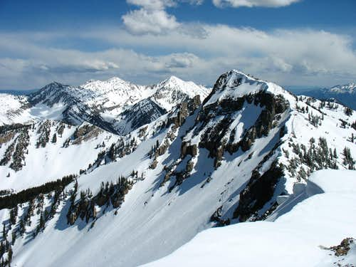 Provo Peak and Cascade South Summit