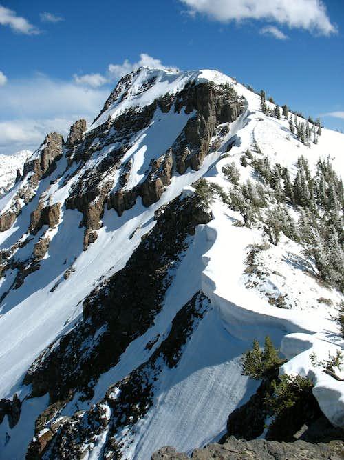 Scramble in the Snow - South Ridge