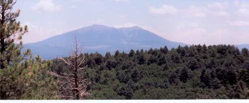 Humphreys Peak and Agassiz...