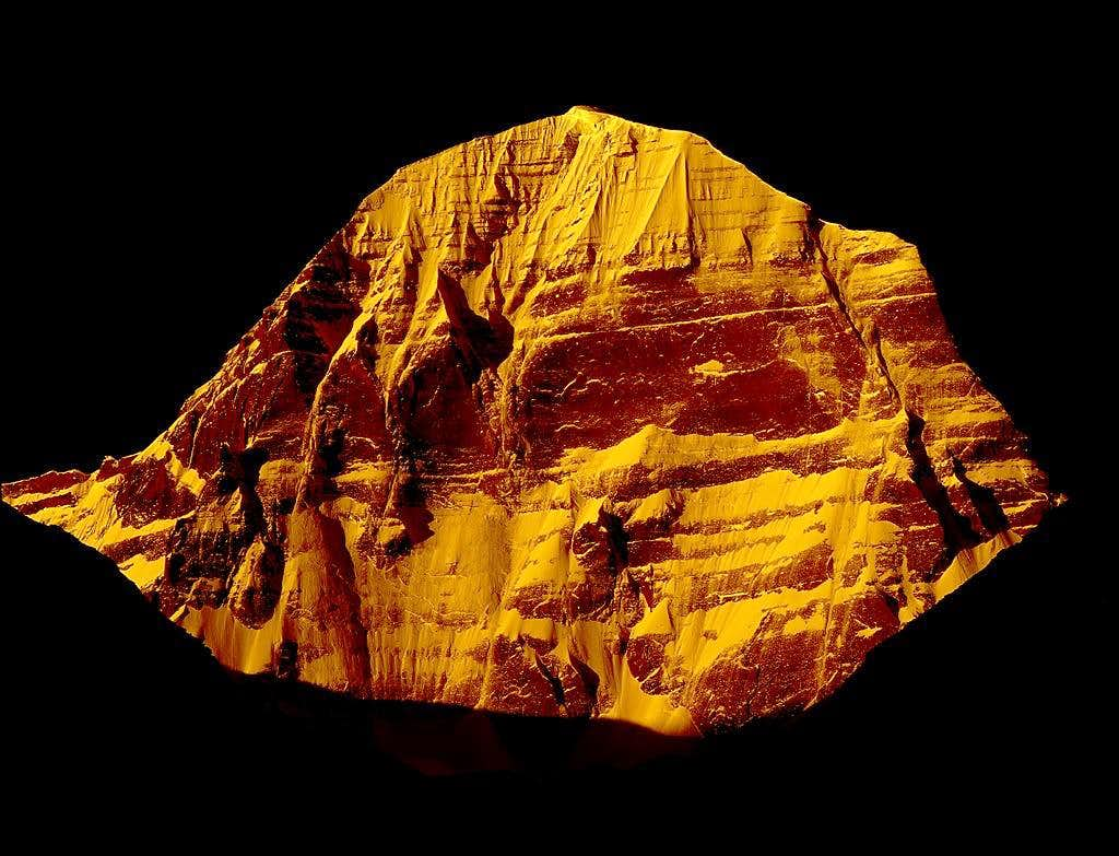 The Norh Face of Mt.Kailash