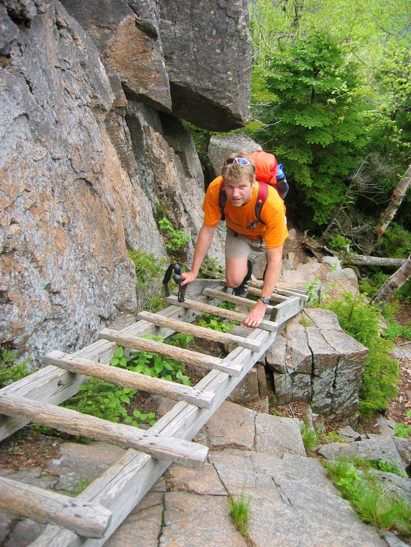 Ladder on Hi-Cannon Trail