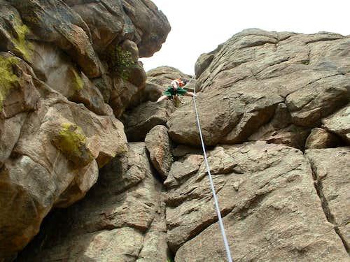 Mxwell Falls Crag