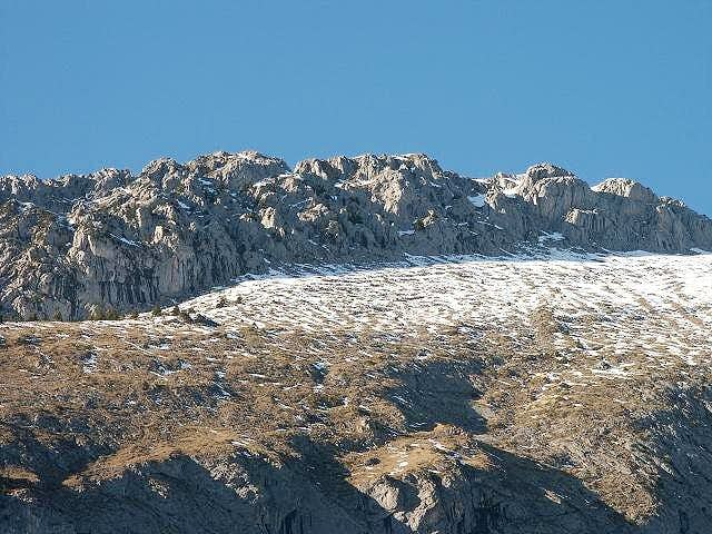Ridges of the Mont Chauffe