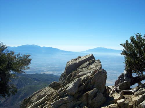 View of San Gorgonio and San Jacinto