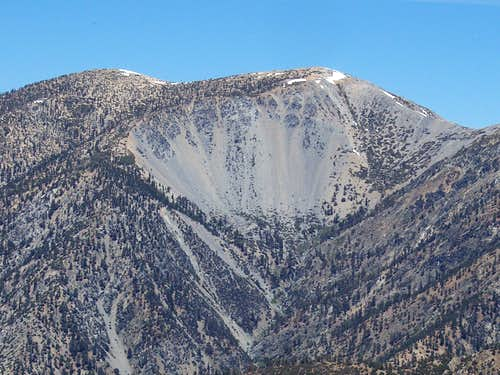 View of Baldy Bowl