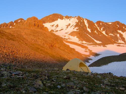 No Trespass on Wilson Peak…