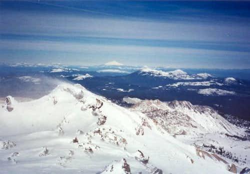 Mt. Shasta in winter, as seen...