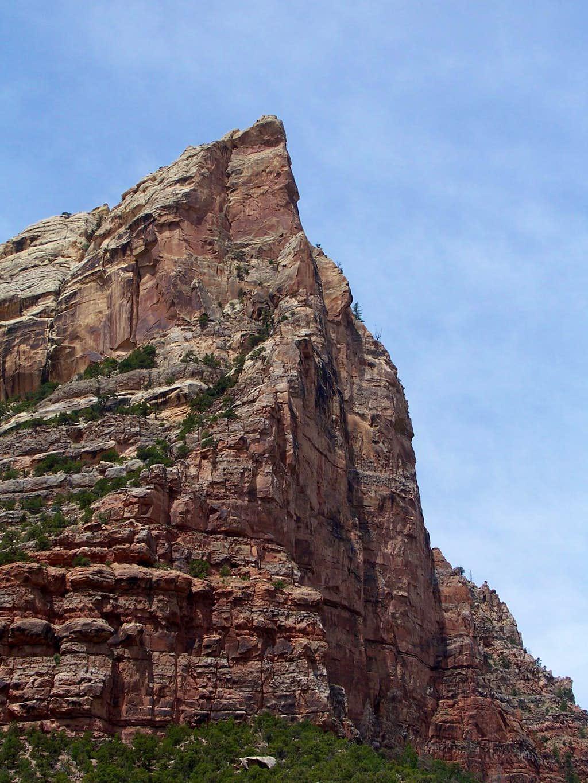 Un-named Dinosaur National Monument peak