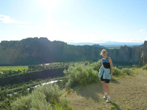Hiking in Smith Rock State Park