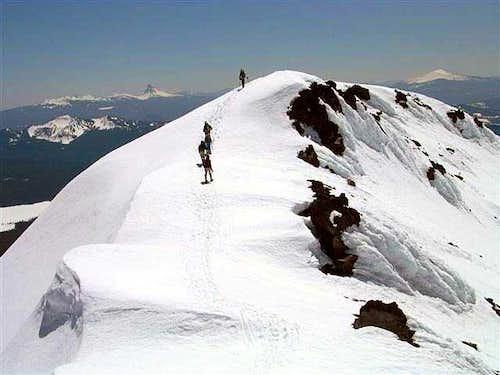 Pioneer gulch/southwest ridge(route)