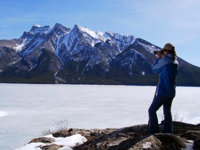 Kenzie @ Lake Minnewaka
