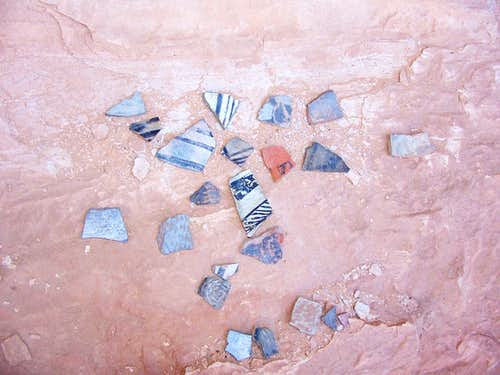 Pot sherds