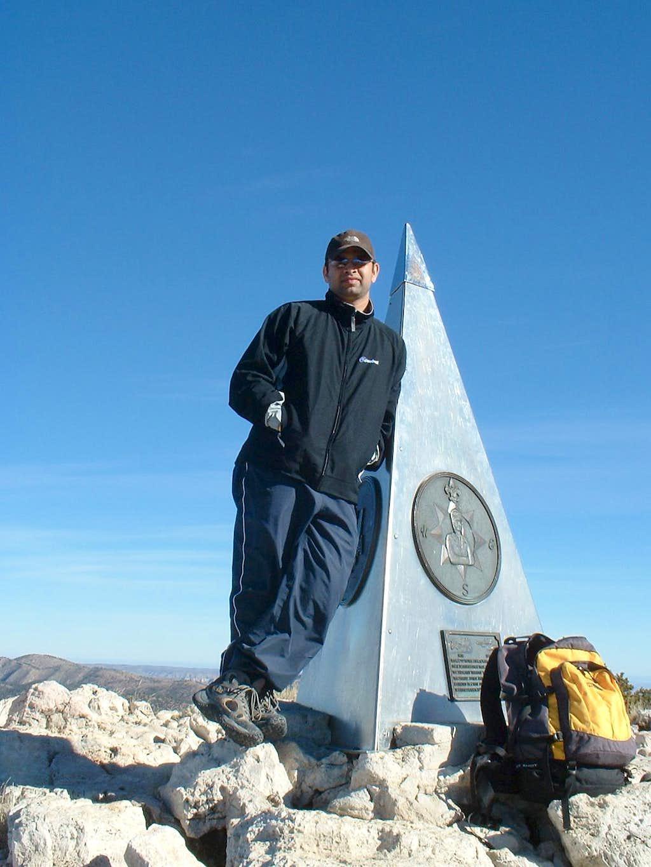 Me, on Summit